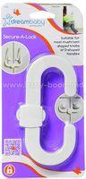 DreamBaby G132 Замок на дверцы Secure-a-Lock  (1 шт.)