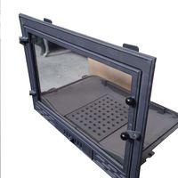 Дверца чугунная со стеклом Weekend - Ferlux C20 с грилем