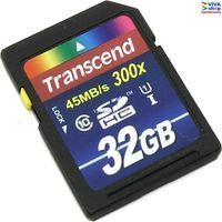 "32GB SDHC Card Transcend ""TS32GSDU1"" Premium"