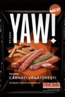 Сухарики со вкусом колбасы Yam Sticks, 60г