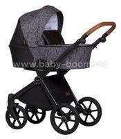 Baby Merc Коляска 2-в-1 Mango M/198 серый/черный