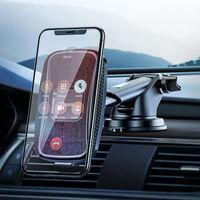 Автодержатель Hoco CA75 Magnetic wireless charging car holder