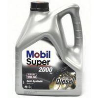 Моторное масло Mobil 10W-40 Super 2000 X1 Diesel 4 л