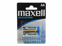 MAXELL Alcaline Battery  LR6/AA, 2pcs, Blister pack