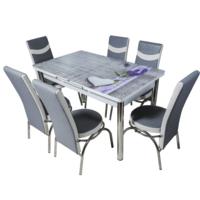 Комплект Келебек ɪɪ 549 + 6 стульев