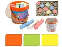 Набор мелков в ведерке 15шт, разных цветов