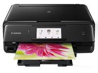 MFD Canon PIXMA TS8040 Black, Colour Print/Scan/Copier/Card Readers,Wi-Fi