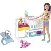 Барби кукла Уход за малышами
