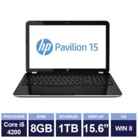 Ноутбук HP Pavilion 15-n096sa Black