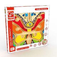 Hape Деревянная игрушка Магнитный лабиринт Бабочка