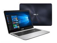 """NB ASUS 14.0"""" X456UR Blue (Core i3-7100U 4Gb 256Gb) 14.0"""" Full HD (1920x1080) Non-glare, Intel Core i3-7100U (2x Core, 2.4GHz, 3Mb), 4Gb (Onboard) PC4-17000, 256Gb SATA, GeForce 930MX 2Gb, HDMI, DVD-RW, Gbit Ethernet, 802.11n, Bluetooth, 1x USB 3.1 Type C, 1x USB 3.0, 1x USB 2.0, Card Reader, Webcam, DOS, 2-cell 38 WHrs Polymer Battery, 1.9kg, Blue/Silver"""