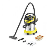 Пылесос Karcher WD 5 Premium Inox (1.348-230.0), Yellow/Black