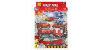 Set masini de pompier 1:87, metal