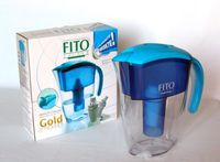 Фильтр-кувшин для воды Фито Фильтр FFGoldAlbastru