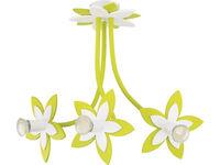 Светильник FLOWERS зел 3л сер-коричн 6898