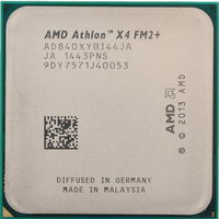 AMD Athlon™ X4 840 Socket FM2, 3.1-3.8GHz, 4MB L2, 65W, 28nm, tray