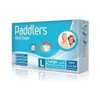 Paddlers подгузники для взрослых Large, 30 шт