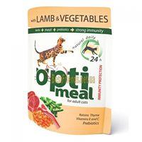 Optimeal «Защита иммунитета» Корм для кошек с ягненком и овощами в желе - 85 г