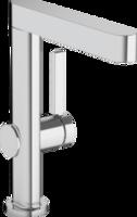 Finoris Baterie monocomandă pentru lavoar 230 cu pipa pivotantă și ventil Push-Open