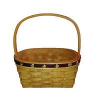 cumpără Coș oval din așchii de lemn 190x140x90/180 mm în Chișinău