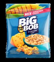Микс арахис и жареная кукуруза Big Bob со вкусом сыра (60г)