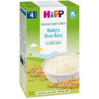 Hipp каша рисовая органическая безмолочная, 4+мес. 200г