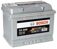 Аккумулятор Bosch Silver Plus S5 006 (0 092 S50 060)