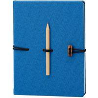 Ego Ежедневник недатир. HAVANA 16.5x21 см, 96 л, синий