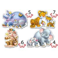 4×Puzzle 4+5+6+7