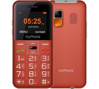 MyPhone Halo Easy Duos, Red