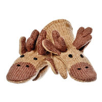 Варежки взрослые Knitwits Manny The Moose Mittens, A2229