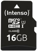 Сard de memorie Intenso MicroSD 16 GB UHS-I Premium