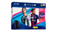 Game Console  Sony PlayStation 4 PRO 1TB Black, 1 x Gamepad (Dualshock 4) + CD Fifa 2019