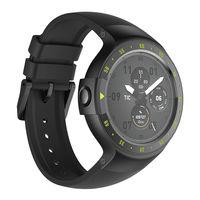 Часы Mobvoi Ticwatch S Smartwatch Knight Black, WF12066