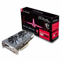"""Sapphire PULSE Radeon RX 580 8GB GDDR5 256Bit 1366/8000Mhz, DVI-D, 2x HDMI, 2x DisplayPort, 	Dual-X fans (Two ball bearing), Intelligent Fan Control (IFC-III), Lite Retail"""