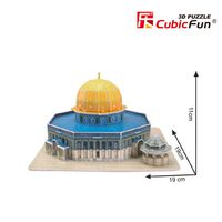 3D PUZZLE Dome of the rock