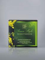купить Крем-комфорт мультиактивный для сухой чувствительной кожи лица (дневной) Green Style в Кишинёве