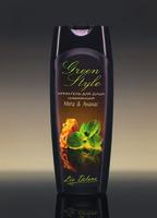 Крем-гель для душа освежающий «Мята&Ананас» Green Style