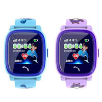 Smart-Watch Wonlex GW400S Black,Blue Pink ,Purple