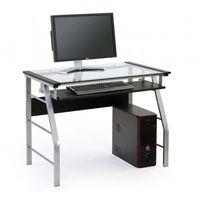 Офисный стол Halmar B-18, Grey/Transparent