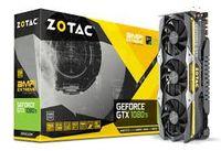 ZOTAC GeForce GTX 1080 Ti AMP! Extreme Core Edition 11GB DDR5X, 352bit, 1721/11200Mhz, Triple Fan IceStorm, HDCP, DVI, HDMI, 3xDisplayPort, Premium Pack