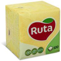 RUTA Салфетки столовые РУТА/100 желтые