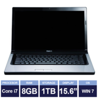 Ноутбук Dell Studio 1557 Black