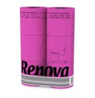 купить Renova Туалетная бумага фуксия ( 6) в Кишинёве