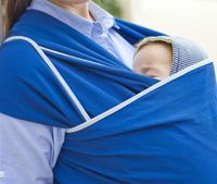 Трикотажный слинг-шарф Ocean Blue WrapBag by Bagy