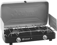 Outwell Gourmet Cooker 2-Burner Stove with Lid