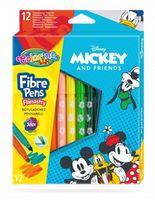 Set de carioci 12 culori - Colorino Disney Mickey Mouse