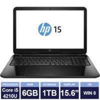 Ноутбук HP 15-r150sa Black