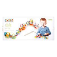 Cubika Деревянная игрушка каталка Рыбки