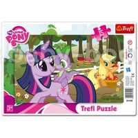 """BS 31155 Trefl Puzzles-""""15Frame""""-In the orchard / Hasbro My Little Pony"""